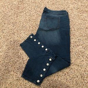 Boutique Plus skinny jeans